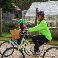 jaime bloom and daughter bella 10 mile ride