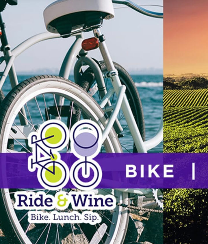 Bike,lunch,sip