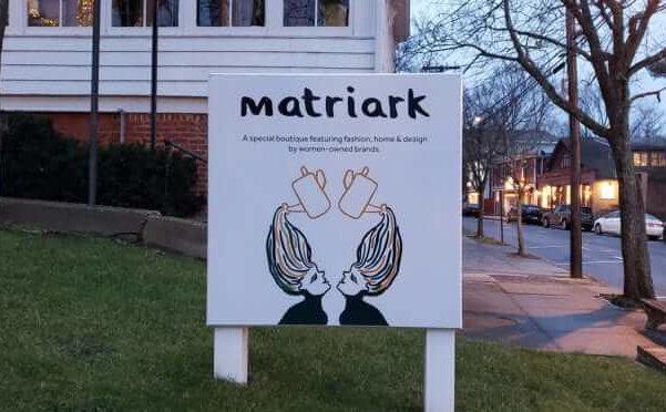 Matriark sign